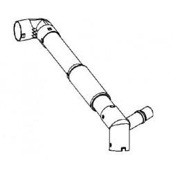 Przewód wentylacji schowka ASTRA H