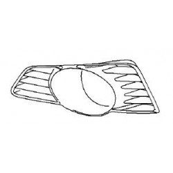 Zaślepka, kratka halogenu lewego TIGRA B