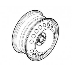 Felga stalowa TIGRA B 15'' (4 śruby)