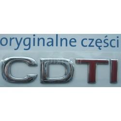 Napis ''CDTI'' na tył Movano A..