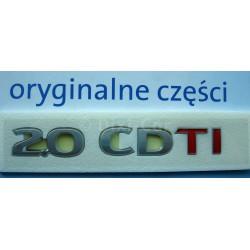 Napis ''2.0 CDTI'' na tył Antara.