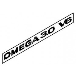 Napis ''OMEGA 3.0 V6'' na tył OMEGA B dla 2000