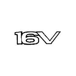 Napis ''16V'' na tył TIGRA A