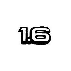 Napis ''1.6'' na tył CORSA B,C/TIGRA A/ASTRA F/VECTRA A