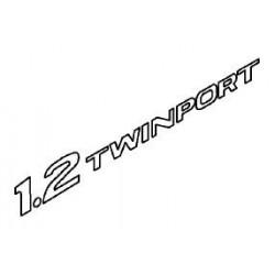 Napis ''1.2 TWINPORT'' na tył CORSA C/AGILA A