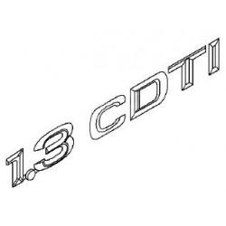 Napis ''1.3 CDTI'' na tył CORSA C/AGILA A/MERIVA A