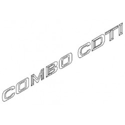 Napis ''COMBO CDTI'' na tył CORSA C COMBO