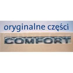 Napis ''COMFORT'' na drzwi przednie Signum, Vectra C.