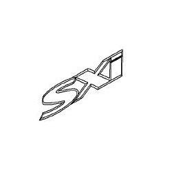 Napis ''SXI'' na drzwi i błotnik ASTRA H/VECTRA C/CORSA D/SIGNUM/ZAFIRA B
