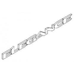Napis ''ELEGANCE'' na drzwi VECTRA C/SIGNUM