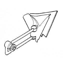 Wspornik lusterka prawy Combo B