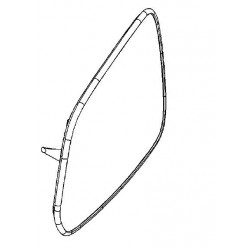 Szkło lusterka lewego elektrochromatyczne Antara