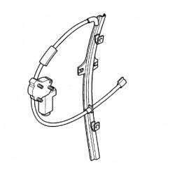 Mechanizm podnoszenia szyb elektryczny strona lewa GM 9121031 (Opel Movano A)