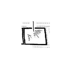 Szyba drzwi tylnych lewa OMEGA B kombi od 1997 (barwiona)
