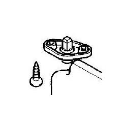 Śruba mocowania osłony przeciwsłonecznej Agila A