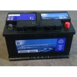 Akumulator 12V 80Ah ASTRA F, G, H/CALIBRA/CORSA B/FRONTERA A,B/TIGRA A/MERIVA A/OMEGA A,B/VECTRA A,B/ZAFIRA A,B