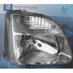 Reflektor prawy GM 9212206 (Opel AGILA A od 2003)