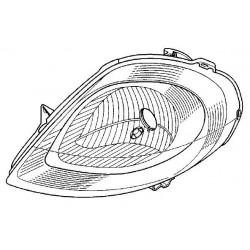 Reflektor lewy VIVARO do 2006