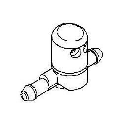 Dysza spryskiwacza szyby przedniej CORSA D (2 podłączenia)