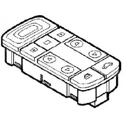 Przełącznik otwierania szyb przednich VECTRA C/SIGNUM od 2006