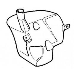 Zbiornik spryskiwacza VECTRA B (bez reflektorów, z układem auto)