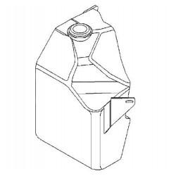 Zbiornik spryskiwacza VECTRA C/SIGNUM (bez reflektorów)
