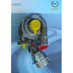 Turbosprężarka ASTRA H (Z13DTH)