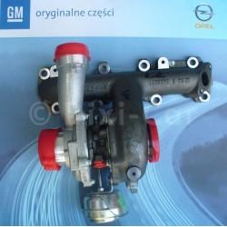 Turbosprężarka (Z19DTL, Z19DT) ASTRA H, SIGNUM, VECTRA C, ZAFIRA B
