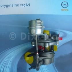 Turbosprężarka CORSA D 1.3