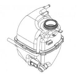 Zbiornik wyrównawczy płynu chłodzącego VECTRA C/SIGNUM (2.8)