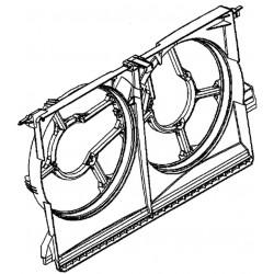 Osłona wentylatorów wyciągowych chłodnicy GM 13143463 (Opel Vectra C, Signum)