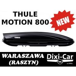 Box, bagażnik dachowy, boks THULE MOTION 800 (CZARNY)