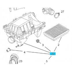 Filtr powietrza zespolony GM 9177261 (Opel Vectra C, Signum 2.0, 2.2)