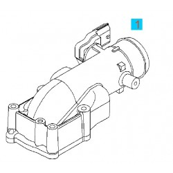 Kolektor ssący górny GM 24418320 (Opel Astra G, Zafira A, Vectra C)