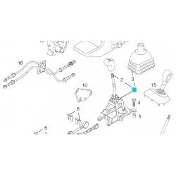 Dźwignia zmiany skrzyni biegów GM 93180047 (Opel Movano A)