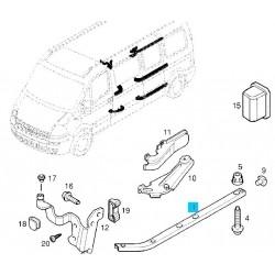 Prowadnica, szyna drzwi przesuwnych GM 93181749 (Opel Movano A)