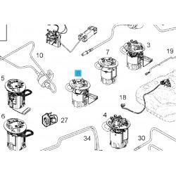 Pompa paliwa zatapialna do zbiornika (bez nadajnika) GM 93181775 (Opel Vectra C)