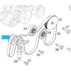 Rolka powrotna paska klinowego, napędowego GM 97312464 (Opel Vectra C, Signum)