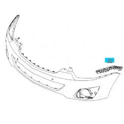 Ślizg, prowadnica przedniego zderzaka strona lewa GM20918965 (Opel Antara)