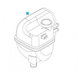 Zbiornik wyrównawczy płynu chłodzącego GM9202100 (Opel Vectra C, Signum)