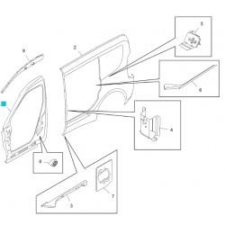 Rama, otwór drzwi poszycia nadwozia GM95509432 (Opel Combo D)