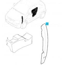 Izolacja błotnika przedniego, tylnego strona prawa GM9116366 (Opel Corsa C, Tigra B)