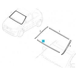 Listwa, uszczelka dolna szyby przedniej GM9114903 (Opel Corsa C, Tigra B)