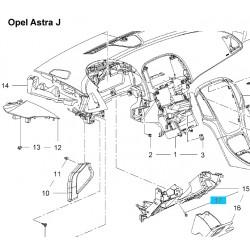 Odbój gumowy GM13325584 (Opel Astra J,K, Cascada, Insignia oraz Zafira C)