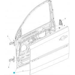 Drzwi przednie, lewy GM93186031 (Opel Vectra C, Signum)