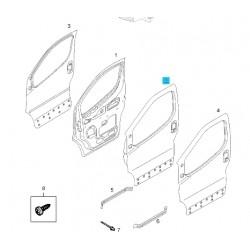 Drzwi przednie, lewe GM93194149 (Opel Vivaro)