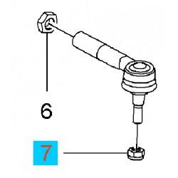 Nakrętka sześciokątna M10 końcówki drążka kierowniczego GM11067215 (Opel Adam, Corsa C,D,E, Meriva A, Tigra B)