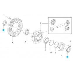 Uszczelniacz mechanizmu różnicowego GM12755013
