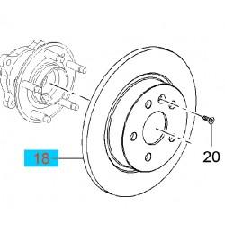 Tarcza hamulcowa tylna 292mm GM13502137 (Opel Astra J, Cascada, Zafira C)