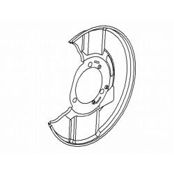 Osłona tarczy hamulcowej przód INSIGNIA (lewa)(16 cali)
